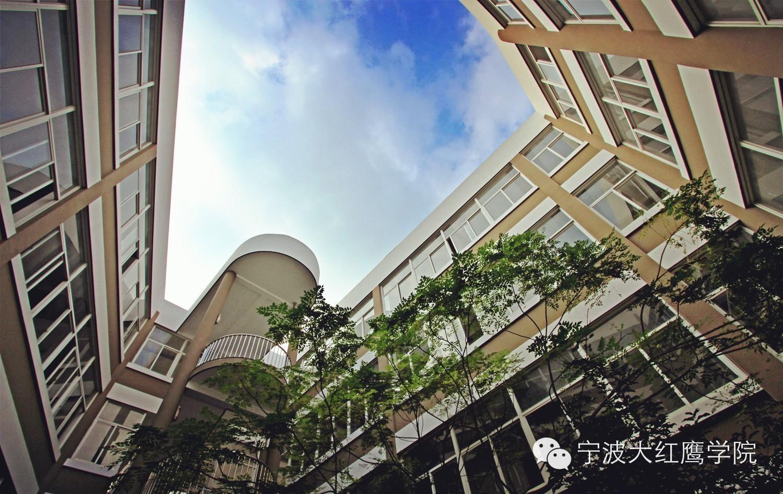宁波大红鹰学院美女
