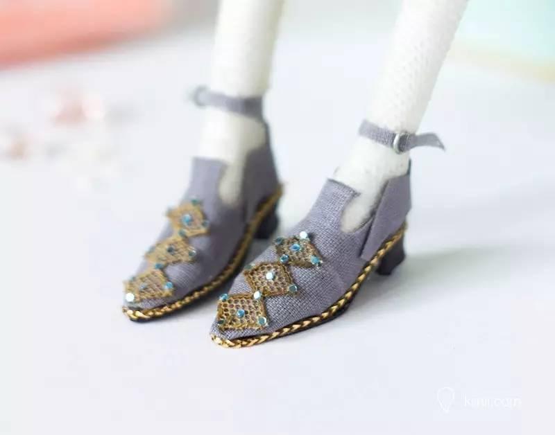 娃娃(玩偶)鞋子diy手工制作过程图解
