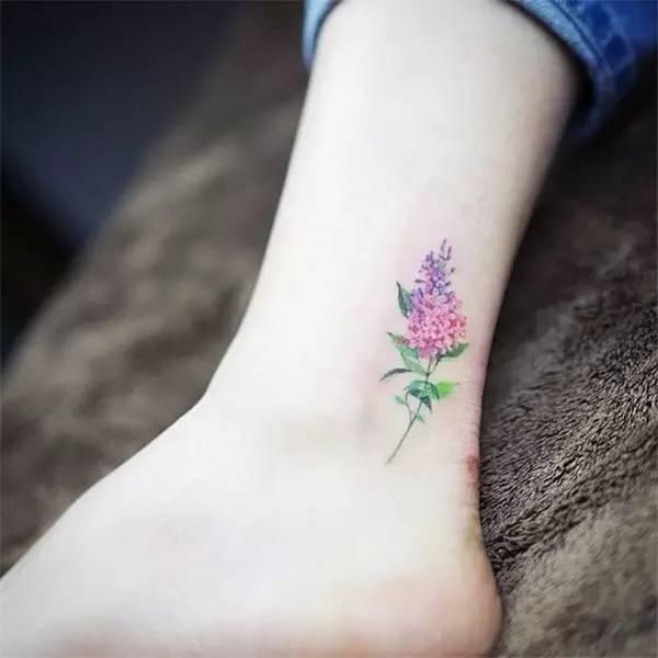 小清新的纹身图案,有点意思哦图片