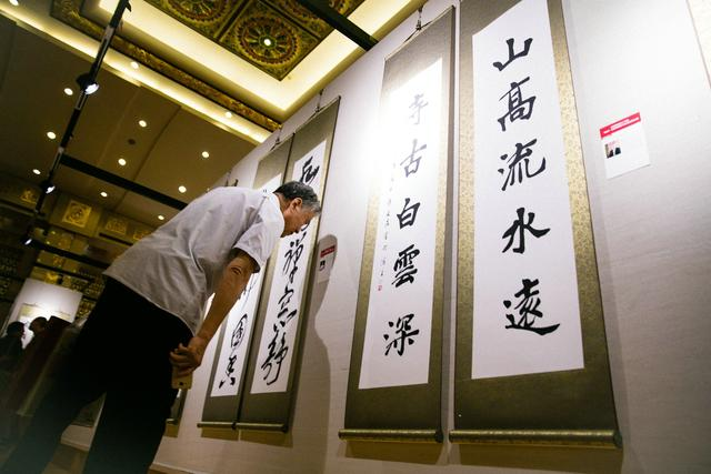 六十多件禅语楹联书法精品在香港展出