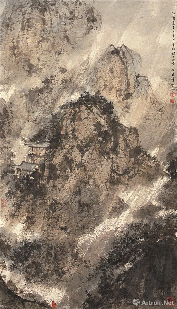 金刚坡下傅抱石 抗战时期绘画七十余年后重回故地