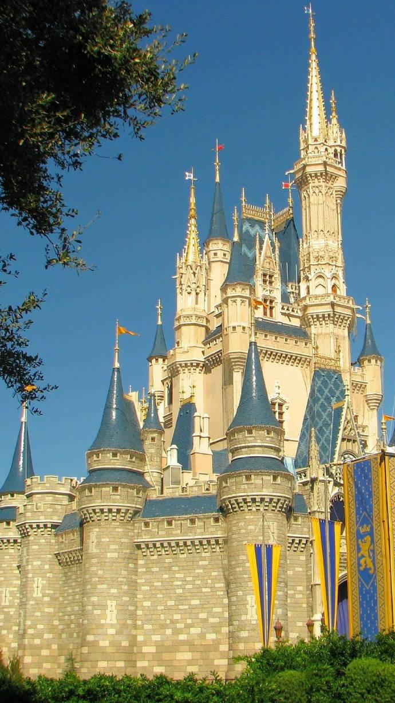 迪士尼乐园城堡   手机壁纸