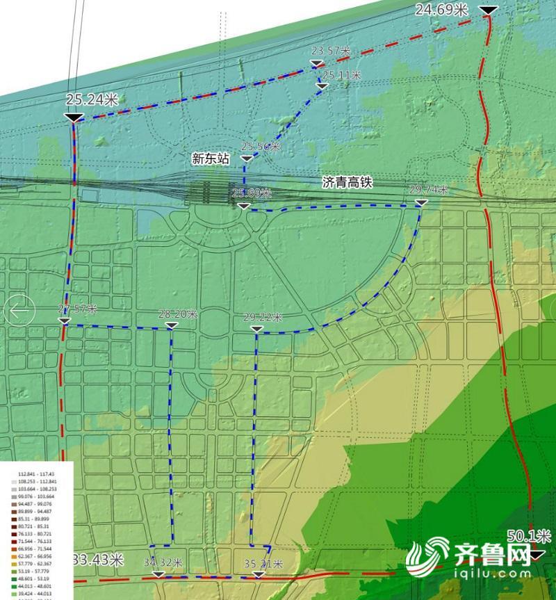 城市天际线分区规划图