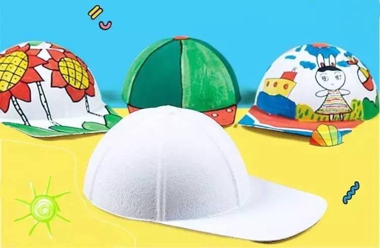 """【免费报名】亲子diy手绘夏凉帽,""""帽""""美如花,今年夏天"""