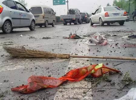 前天发生惨烈车祸!@被撞的人你也认识图片