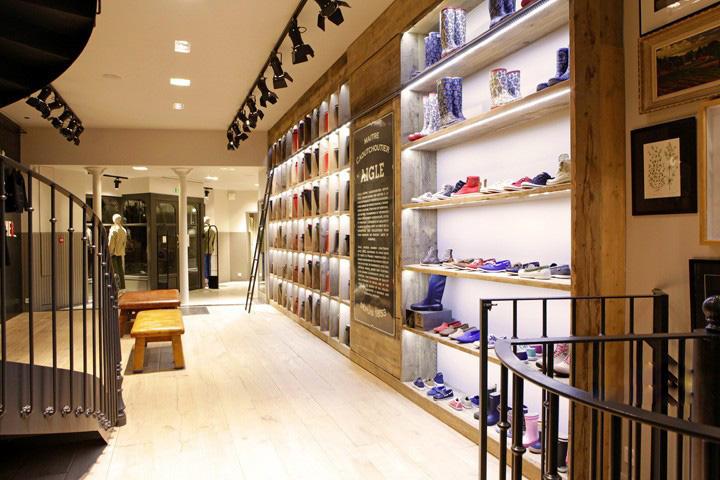 合肥鞋店装修设计