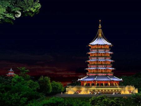 杭州雷峰塔遗址被扔成 钱山 景区没招我有招图片