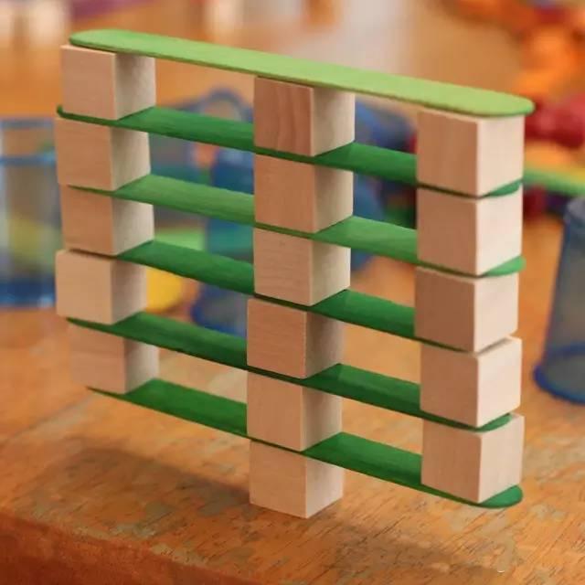 幼儿园最新建构区玩教具手工制作,材料简单又好玩!