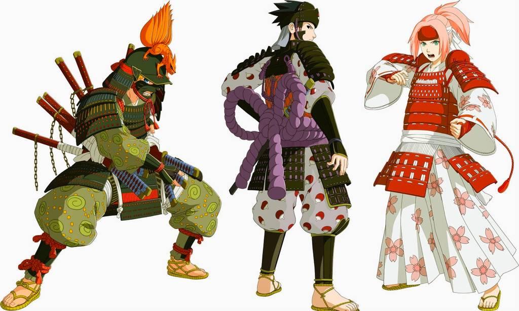 接下来要说动漫?不是啦~多萌选《火影忍者》是要说日本武士