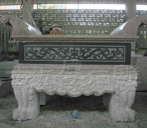 惠安石雕供桌常见的设计构想和选材构思 古石厚