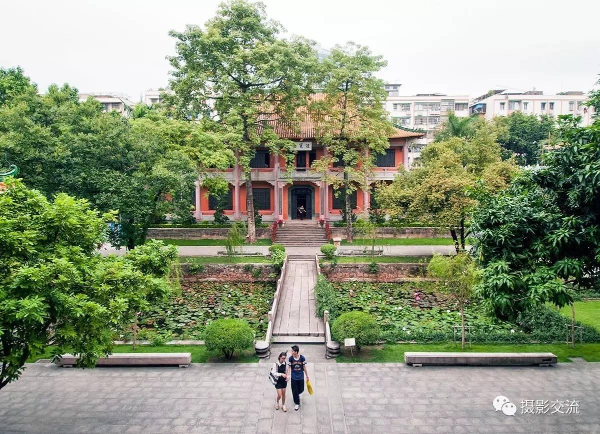 【瞰视觉 · 广东广雅中学】黄彦摄影图片