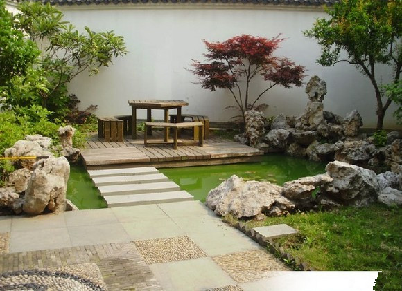 营造私家别墅庭院景观设计的19大要素-好养护图片