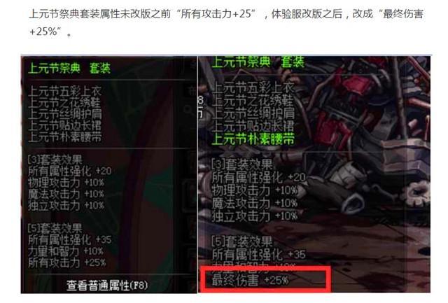 DNF90级史诗防具属性改版:海伯伦套装更改,最终伤害加成