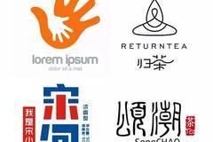 广告设计师在设计 logo 时喜欢用图形创意,也会经常做一些比较有质感图片
