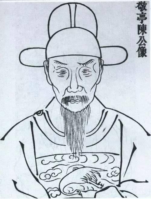 苏轼人物简笔画