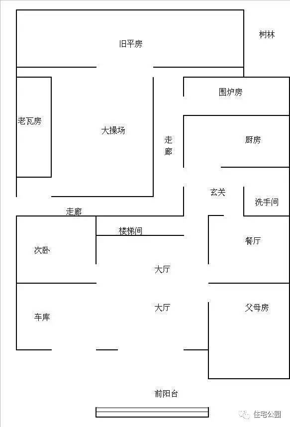 在新房和老瓦房,旧平房之间弄了一个大后院,在农村没个庭院那可是真不图片