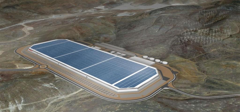 """马斯克表示会在美国新建 23 个 Gigafactory,电池厂"""""""