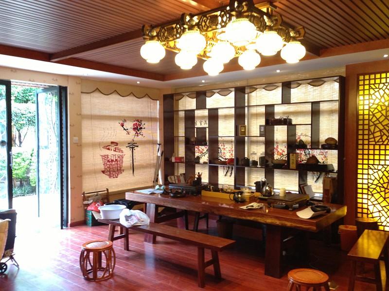 昆明茶室装修效果图/昆明茶楼设计效果图施工公司图片