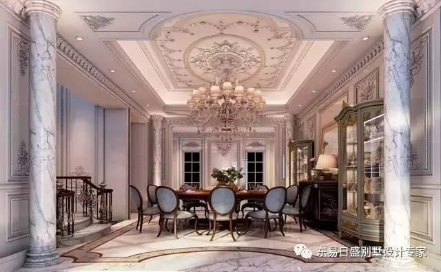 法式宫廷风的浪漫情调赋予家居万种风情,令人陶醉不已.图片