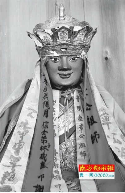 章公祖师_福建省三明市阳春村章公祖师肉身坐像.资料图片