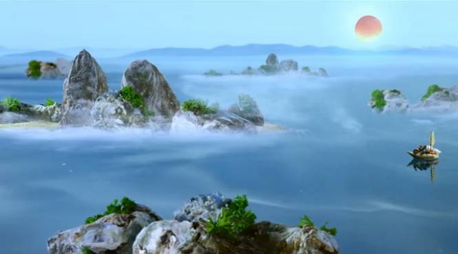 """看着祖国的锦绣江山和秀美山水,他提出了一个""""荒唐""""的想法:   我"""