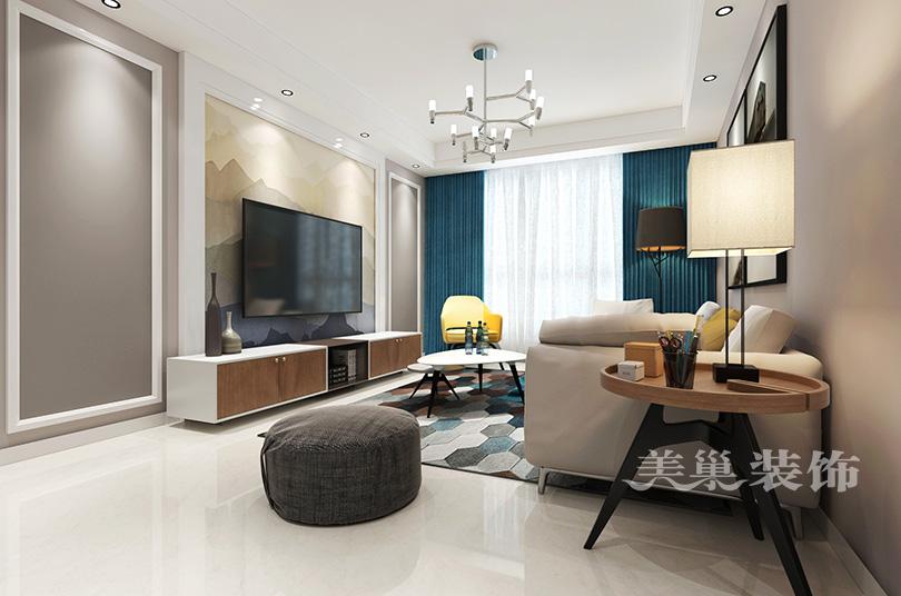 郑州林溪湾150平简欧风格彰显清新的浪漫住宅