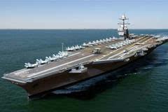 """8艘航母领衔200艘军舰堵住出海口 中国海军最大对"""""""