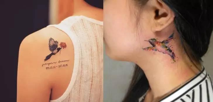 纹身≠坏女孩,趁着夏天赶紧美一把