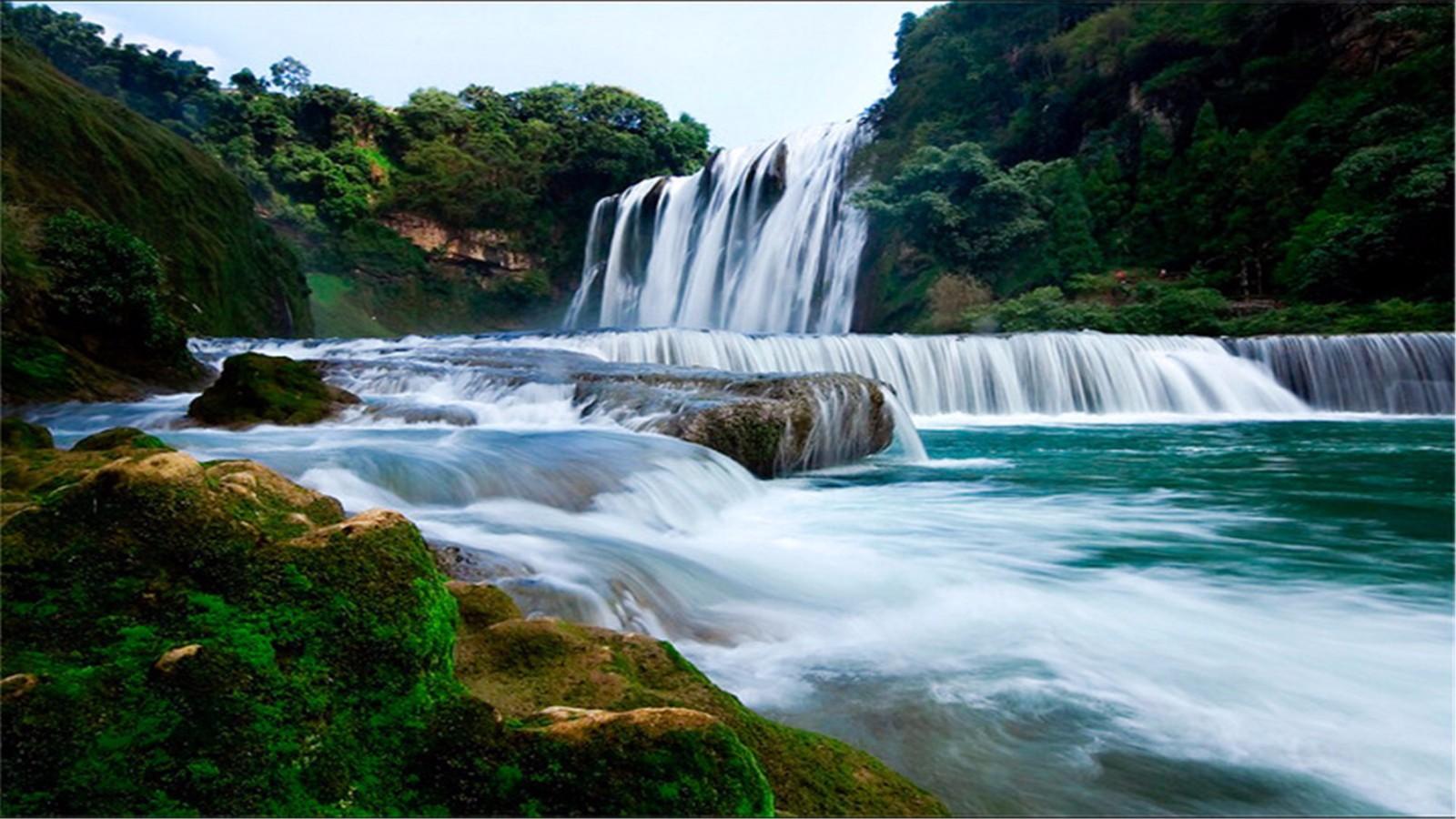 大�y�9�%9�._part 08 早晨车程1小时到黄果树,进入亚洲最大瀑布游览巨大瀑崖上