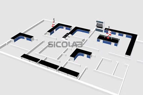 食品安全设计实验室检测布局SICOLAB_搜狐其德州山东广告设计公司图片