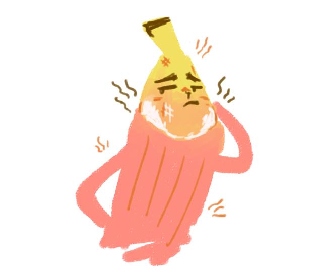 香蕉先生和他的红毛衣
