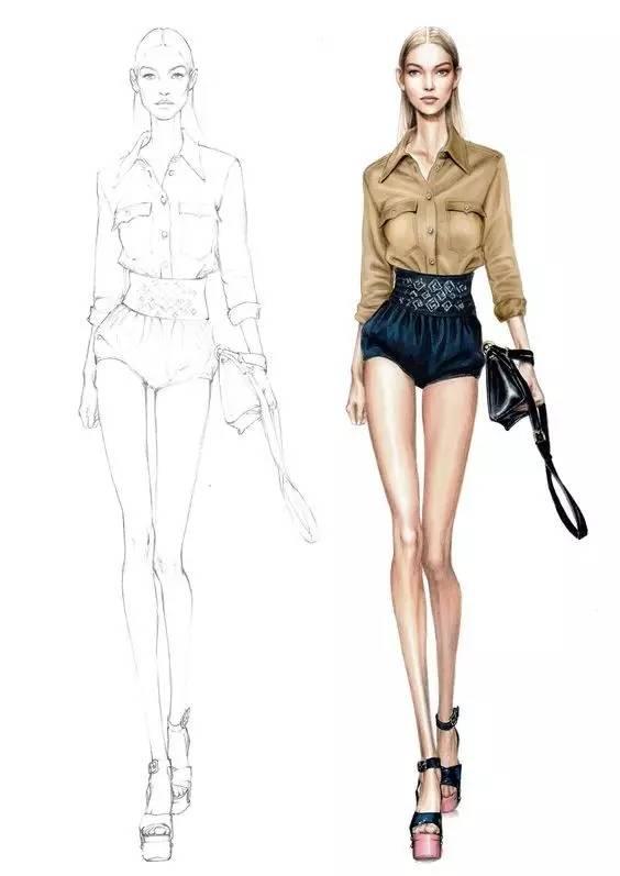 如何提高手绘能力 时装设计师画不好效果图,那可是硬伤