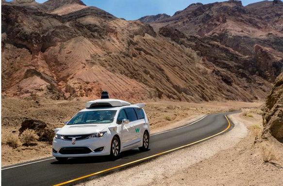 Waymo在极热条件下开展自动驾驶路测
