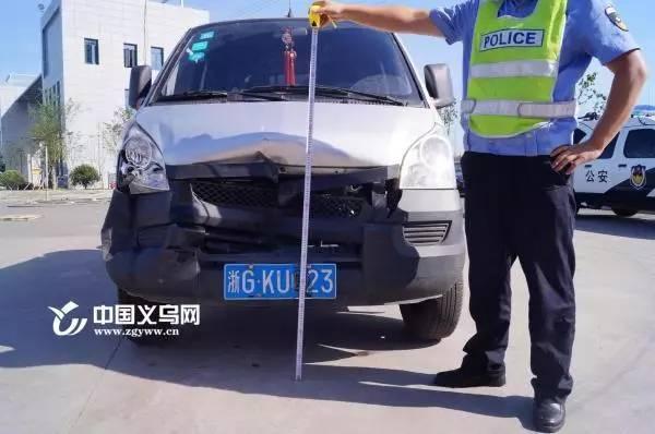 据推测,肇事车辆为柳州五菱牌小货车.