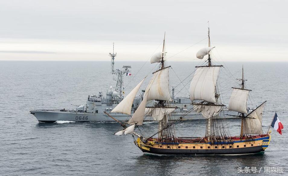 法国18世纪的护卫舰外观优美,搜狐艺术品_堪比汽车4.长a世纪动图片