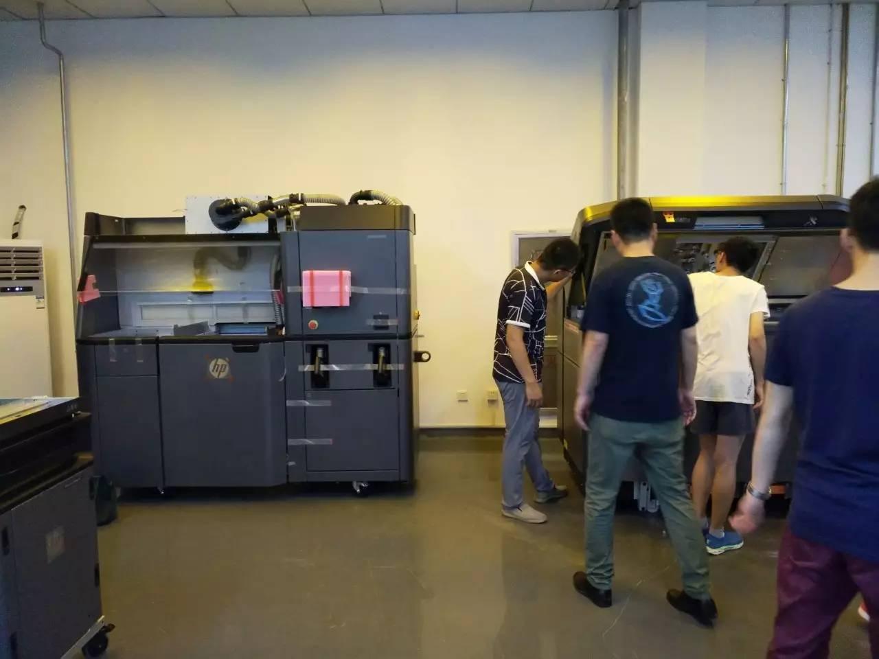 国内第一台惠普3d打印机如约无限青岛高新区落户三维巴中市消防设计装修公司图片