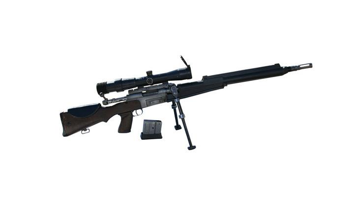 福瑞frf2_法国反恐部队的主要装备之一frf2狙击步枪