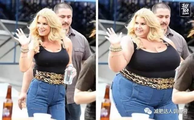 把自己ps成胖子,胖瘦对比不忍直视图片