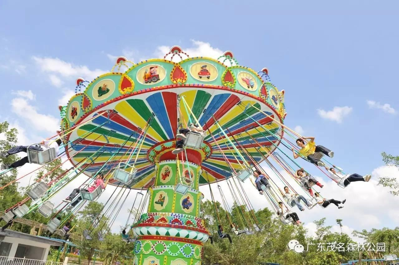 放假去哪儿玩!广东茂名森林公园刚刚来了一群新网红,看了要尖叫!图片