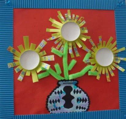 幼儿园老师手工作品~真的太美了!【上】| 巧手教育
