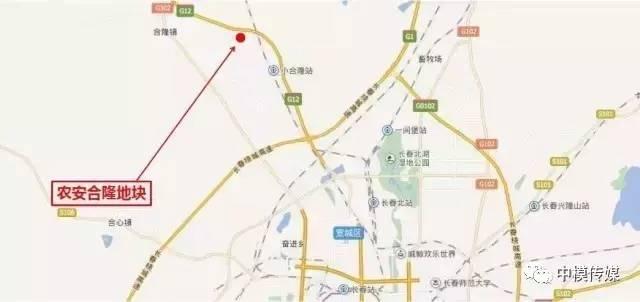合隆镇最新规划图