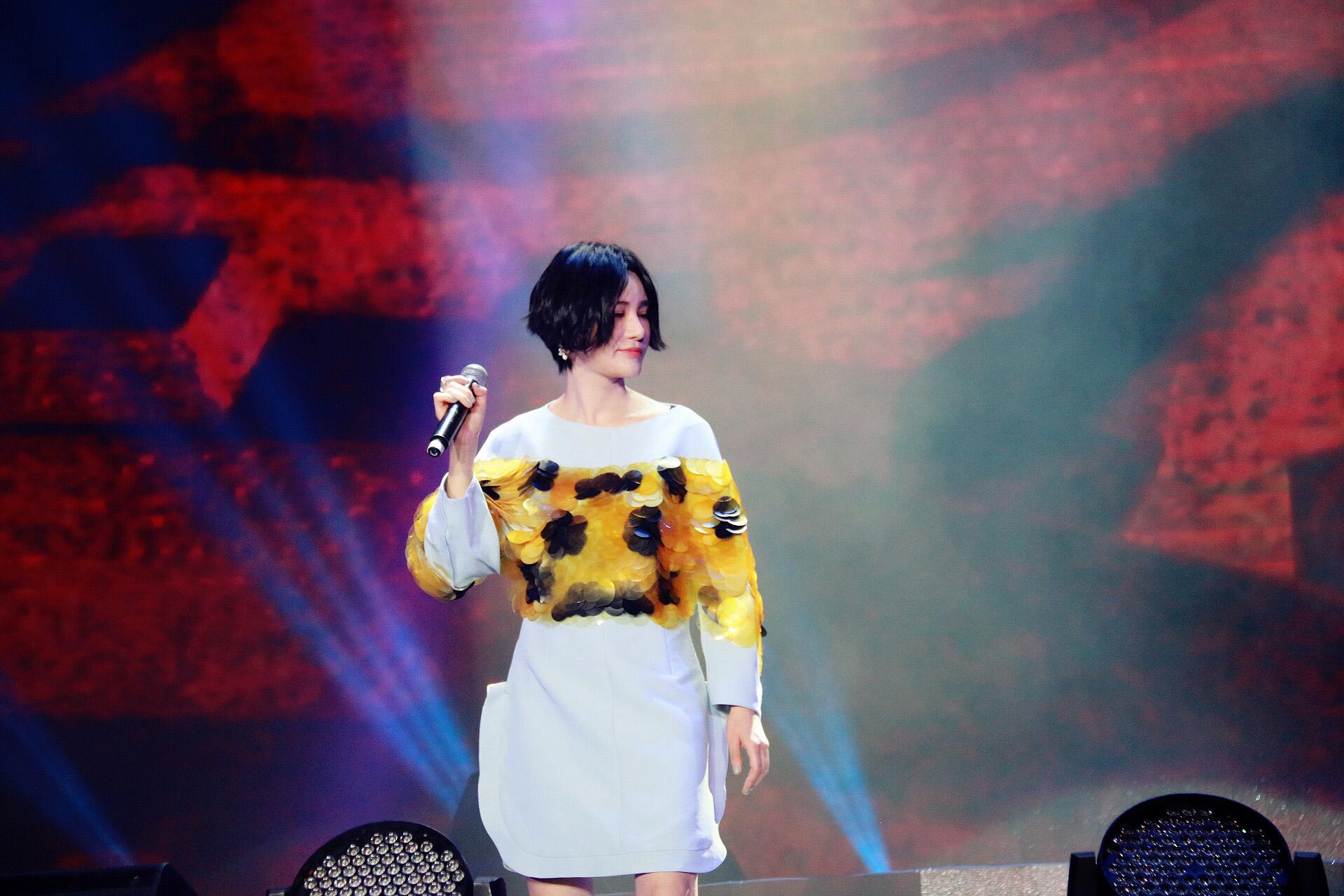 尚雯婕亮相大展live实力 全新原创专辑年内上线