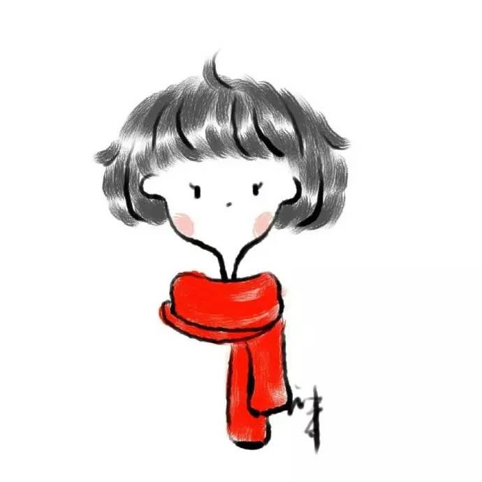 机灵搞怪的女生卡通微信头像!