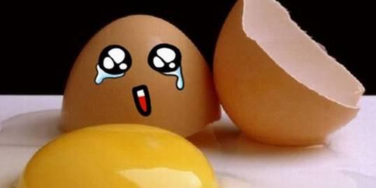 鸡蛋碰石头,碎的竟然是石头