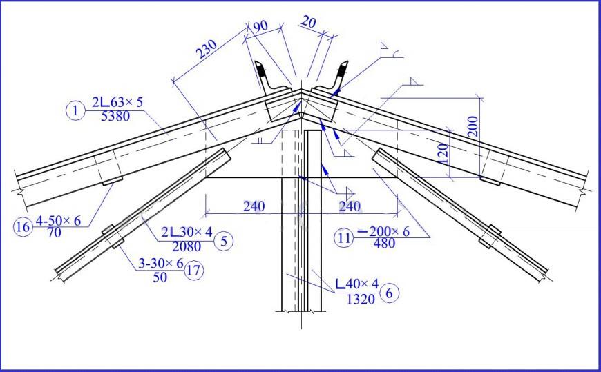 快速识图钢结构图片