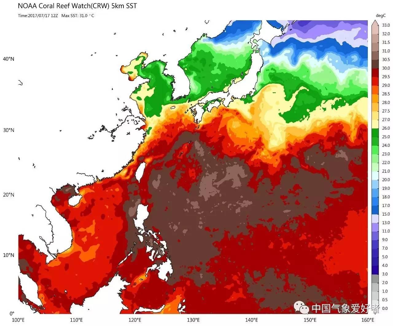 台风预警 西北太平洋憋不住了,2017年第一个台风活跃期到了 预计生