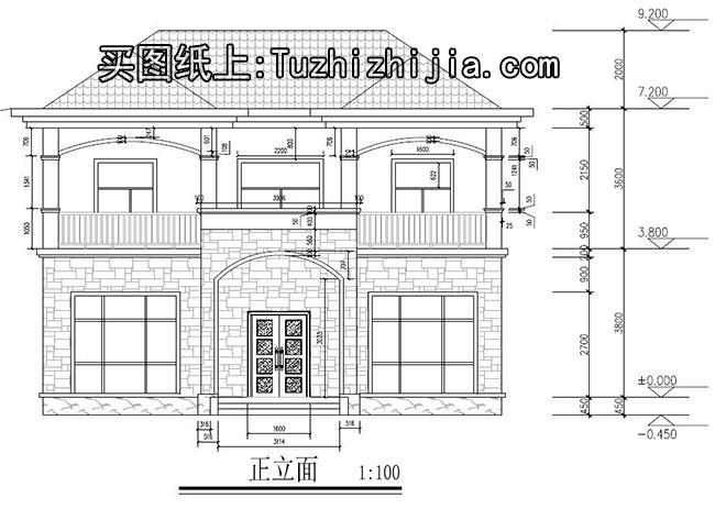 120平房子设计图带效果图,农村建房最火的一款!