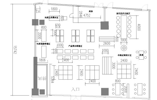 展厅平面布局图