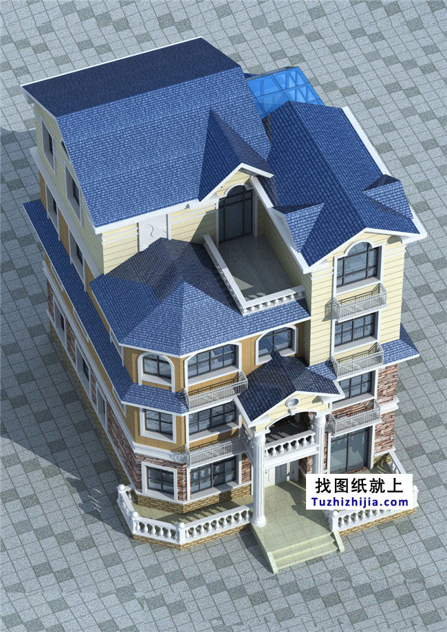 为父母自建120平新房屋砖混四层农村v父母!房屋设计图15乘7.9图片