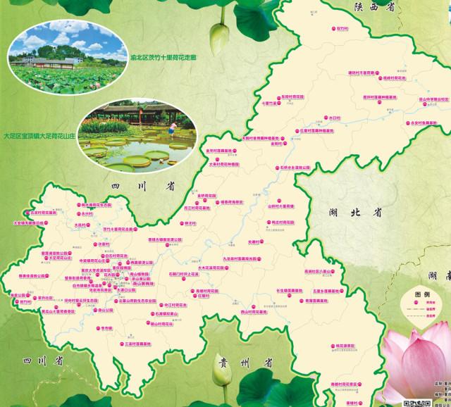 重庆夏天热热热热,南岸人你需要这样一份地图凉爽一夏!图片